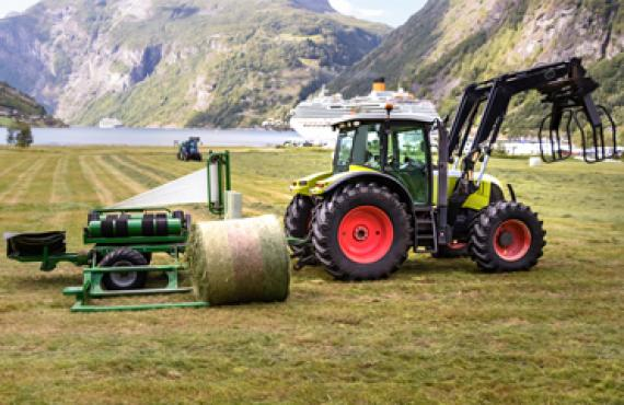 Balers and wrappes