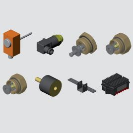 Accessories for fluid-air cooling systems
