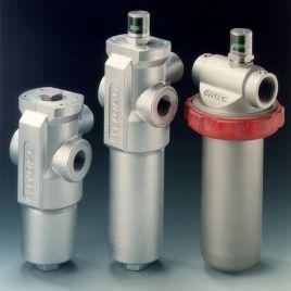 Inline Filter with Differential Pressure Relief Valve - LFM