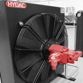 Air cooler, mobile series with hydraulic fan drive, OK-ELH