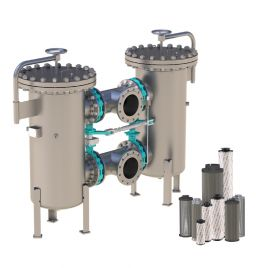 Process Inline Filter, Change-Over - PRFLD