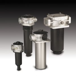 Return Line Filter for Mobile Applications - 4-Hole Mounting - Tank Mounted - RFM