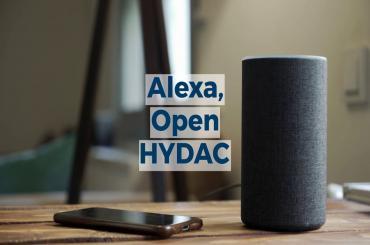 Alexa, open HYDAC