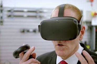 HYDAC Virtual Reality training