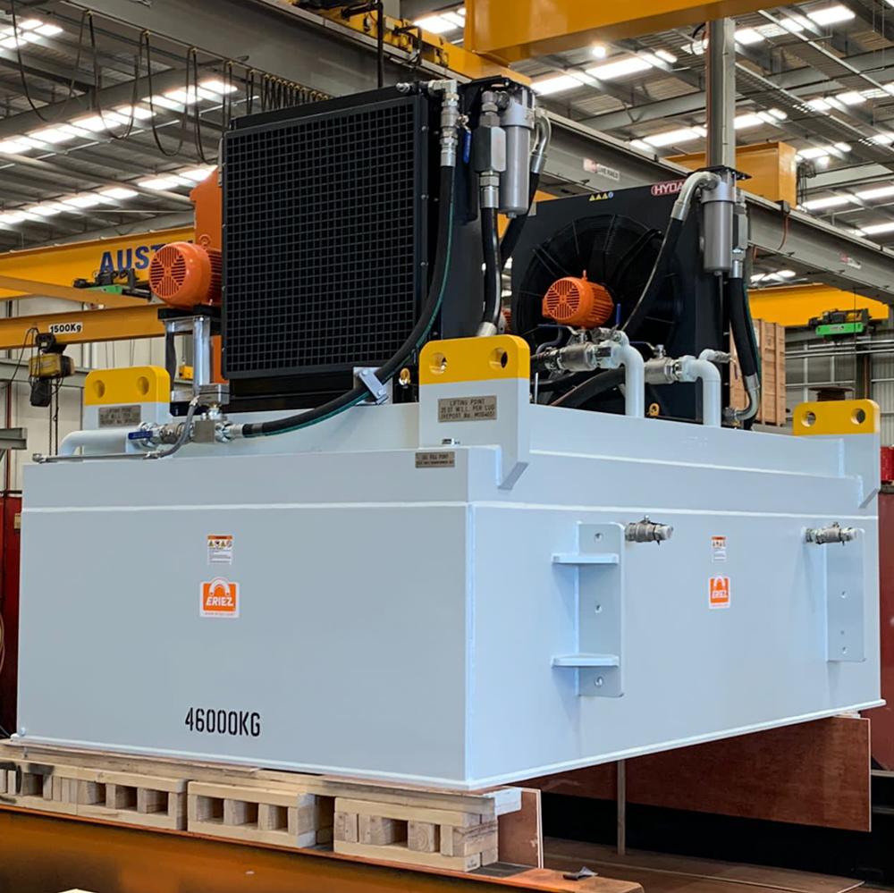 Australia's biggest electromagnet meets demanding schedule with HYDAC