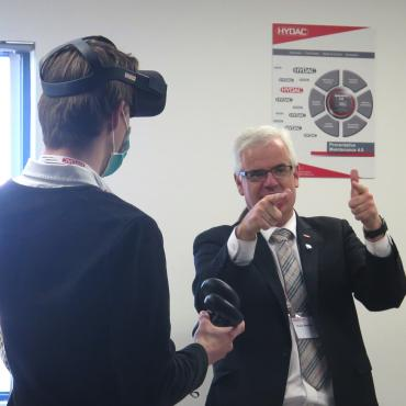 Student facility tour and innovation day proves to be a winner