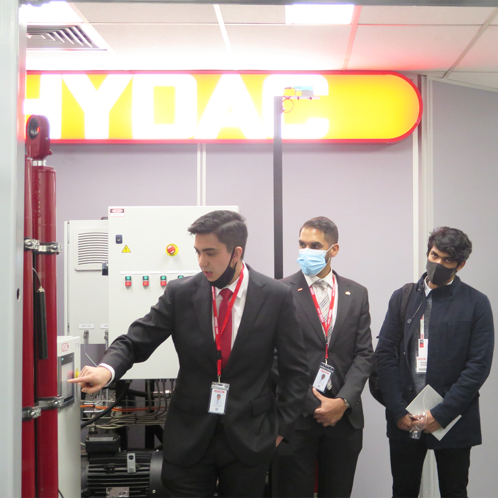 'Facility tour and innovation day' raging success