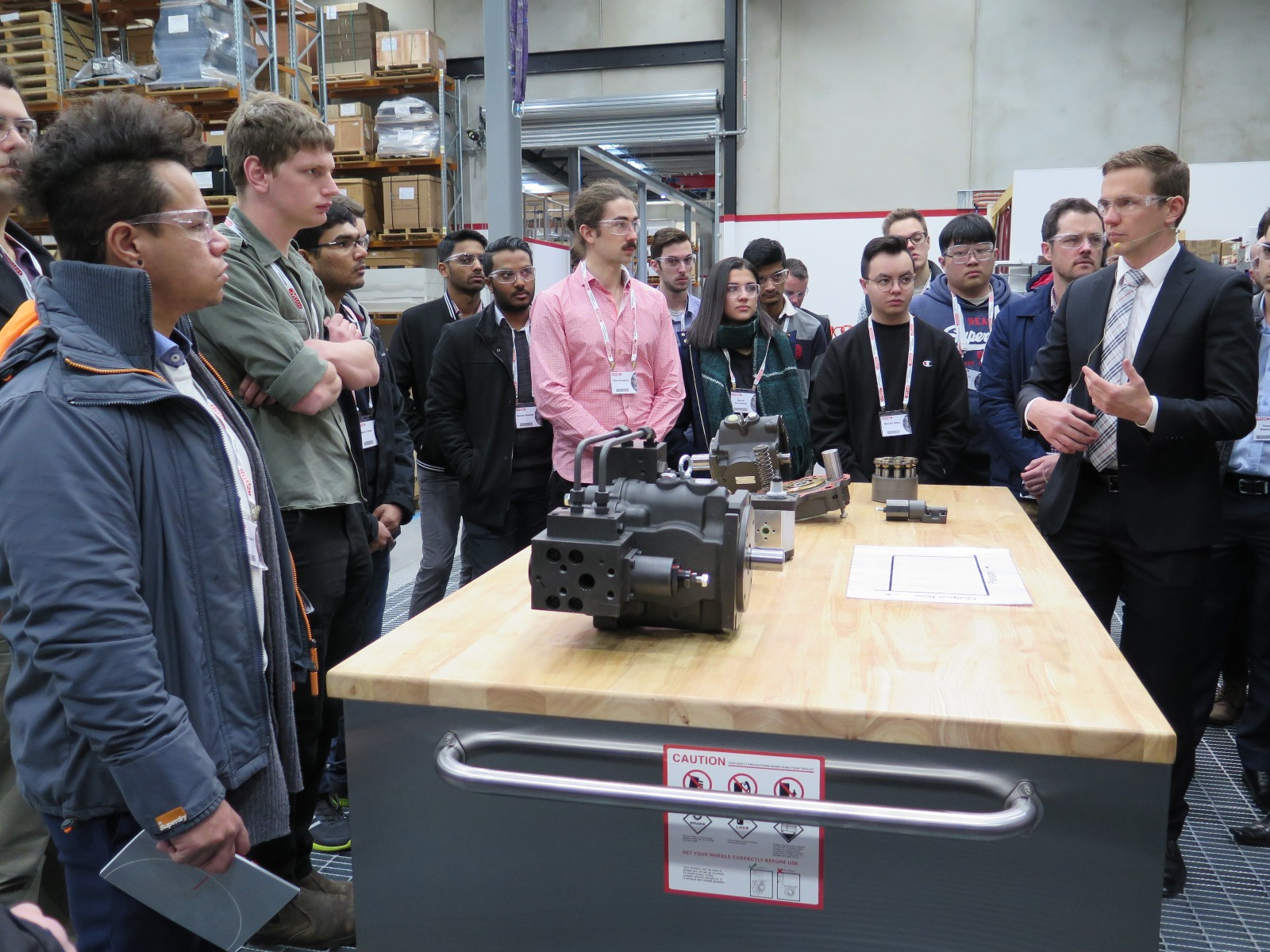 HYDAC Facility Tour & Innovation Day