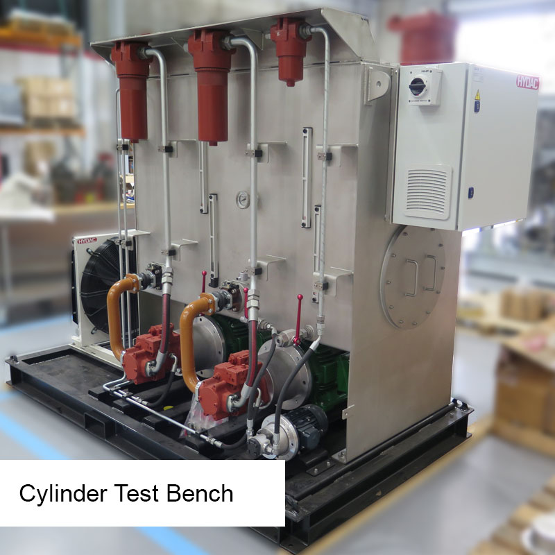 Cylinder Test Bench