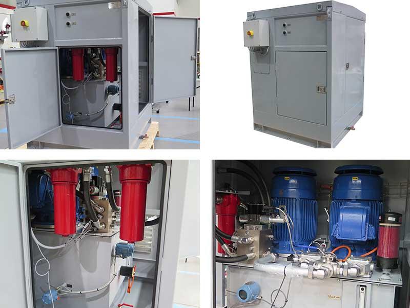Diverter drive system HPU