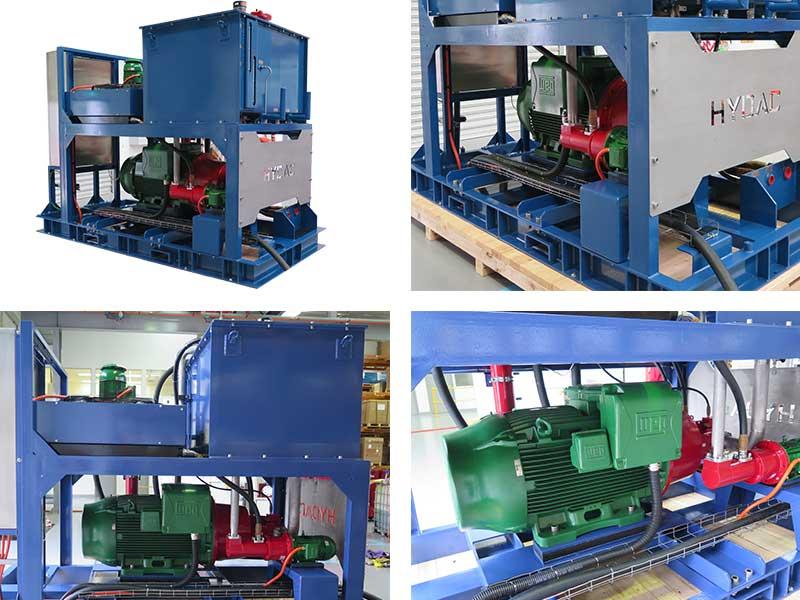 winch hydraulic power unit